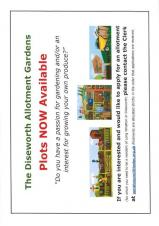 Allotment Plots - Available